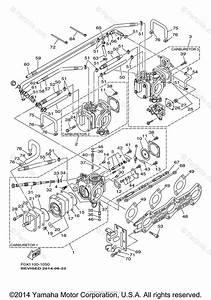 Yamaha Waverunner 2001 Oem Parts Diagram For Carburetor