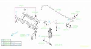 20470ae00c - Link Assembly-stabilizer  Rear  Suspension  Frame