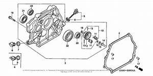 Honda Engines Gx270 Ha2  A Engine  Jpn  Vin  Gcab