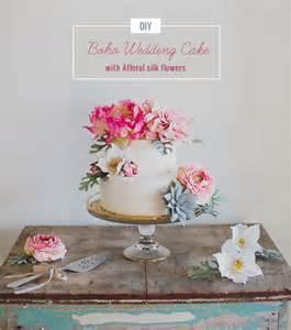 simple wedding cake toppers diy boho wedding cake green wedding shoes weddings
