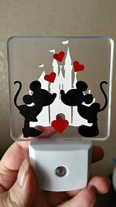 25 basta ideerna om night lights pa pinterest nattlampa With kitchen cabinets lowes with mickey and minnie mouse stickers