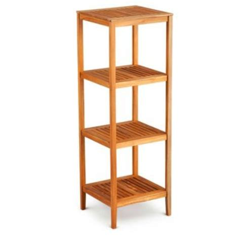 teak bathroom shelving unit 17 best images about bathroom accessories on