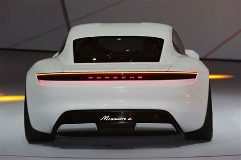 porsche confirms mission  electric car headed  production