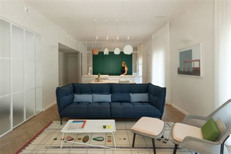 Bauhaus Style Home With Interior Glass Walls by Bauhaus Style Home With Interior Glass Walls