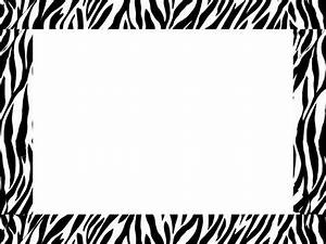 zebra border templates free | Here's a great zebra border ...