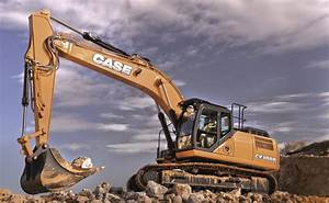 Case Cx300d Excavator - Dennis Barnfield Ltd