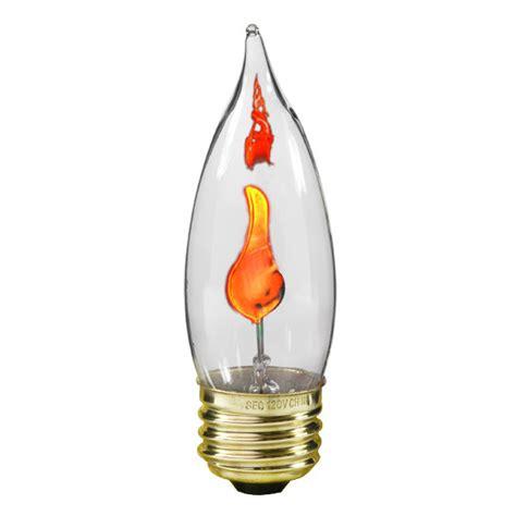 flickering light bulb bulbrite 410803 3 watt flicker bulb