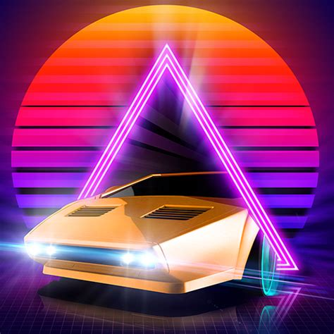Car Wallpaper Apps Png Icon by Neon Drive
