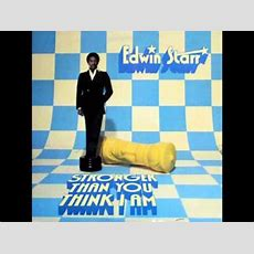Never Turn My Back On You  Edwin Starr Youtube