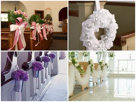 chirch decoration pew decorations ideas for church wedding ideas wedding pew decoration