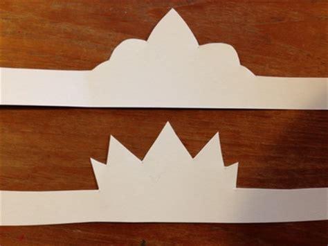 easy card crown  kid craft