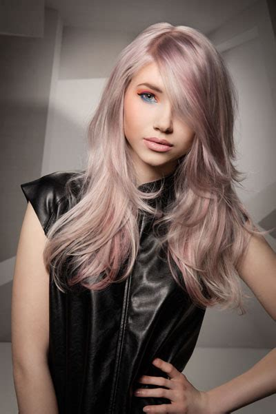 haare mit rosa frisuren mit pastell rosa haare frisurenkatalog eu
