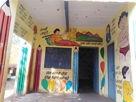 school wall painting services educational theme art
