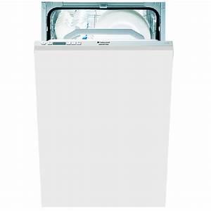 Lave Vaisselle Tout Integrable : hotpoint ariston lave vaisselle 45cm tout integrable ~ Nature-et-papiers.com Idées de Décoration
