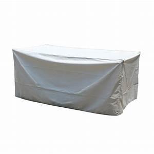 Housse Table De Jardin : housse de table rectangulaire l185 cm housse de protection eminza ~ Teatrodelosmanantiales.com Idées de Décoration