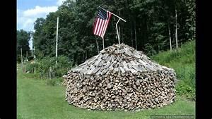 W Va Round Fire Wood Pile U0026 39 S