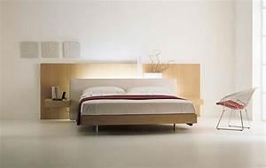 Bett Mit Licht : komfortables bett mit stil gestalten sie ihr schlafzimmer neu ~ Frokenaadalensverden.com Haus und Dekorationen