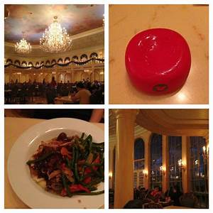 Pics from Be Our Guest at lunch today. Highly recommended ...