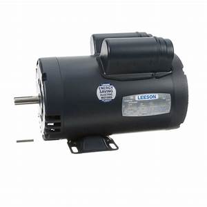 5 Hp Air Compressor Motor  1 Phase  3600 Rpm  230 V  56y