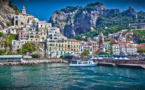 Travel Trip Journey Amalfi Coast Italy