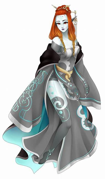 Zelda Legend Twilight Midna Princess Twili Oc