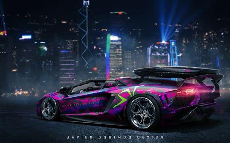 Javier Oquendo - Lamborghini Aventador SV