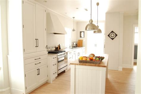 Shaker Cabinet Pulls by Butcher Block Counters Design Ideas