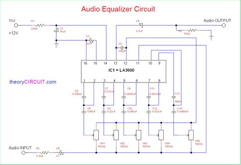 Audio Equalizer Circuit