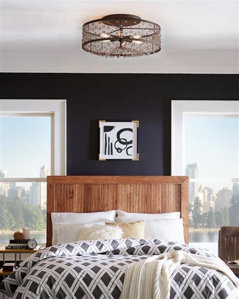 lights for bedrooms ceiling light fixtures for low ceilings ls com 15890 | ColoradoSprings Flush Bed1