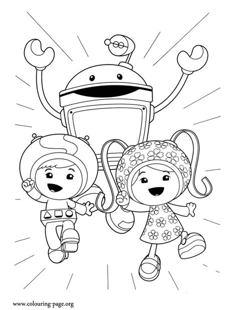 Coloring Umizoomi by How About Follow The Team Umizoomi On Another Adventure
