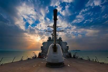 Navy United States Ship Ddg Destroyer Background