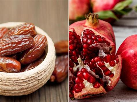 healthy heart include pomegranate date combo