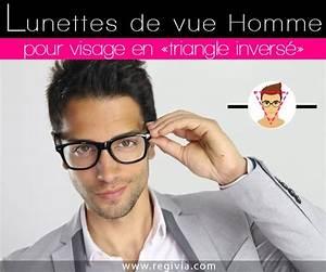 Forme Visage Homme : lunettes homme visage triangle inverse ~ Melissatoandfro.com Idées de Décoration
