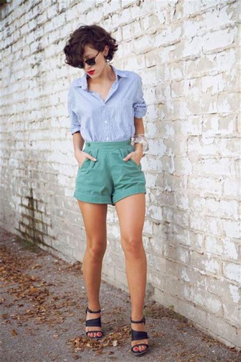 Short cintura alta modelos e looks lindos!