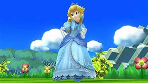Blue Dress Peach Super Smash Bros For Wii U Gt Skins