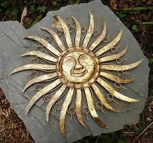 Metall Sonne Für Hauswand : sonne metall braun gold wanddekoration wandbild gartendeko 68 cm ebay ~ Whattoseeinmadrid.com Haus und Dekorationen