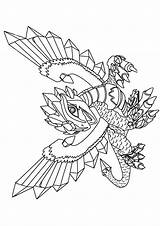 Dragon Train Coloring Pages Coloring4free Printable Barf Belch Stormfly Books sketch template