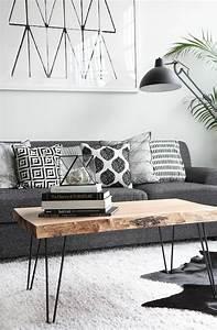 Weißer Tisch Mit Holzplatte : ber ideen zu wohnzimmertische auf pinterest st hle m bel und baumst mme ~ Bigdaddyawards.com Haus und Dekorationen