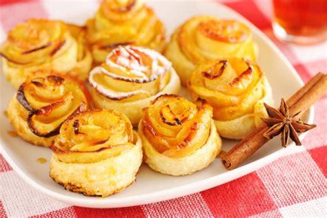 gateau pate feuilletee facile tartelettes aux pommes roses recette g 226 teau facile