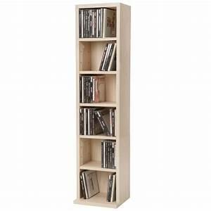 Range Cd Colonne : meuble range cd dvd 5 tag res de rangement ajustables ~ Teatrodelosmanantiales.com Idées de Décoration