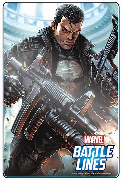 Marvel Lines Battle Comic Con Trailer Punisher