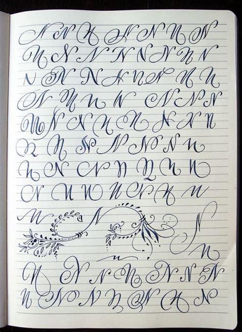 majuscule  variants  polish calligrapher barbara