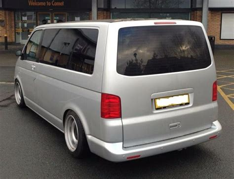 vw transporter t5 banded steel wheels 17inch staggered 5x120 mint t6 in bournemouth dorset