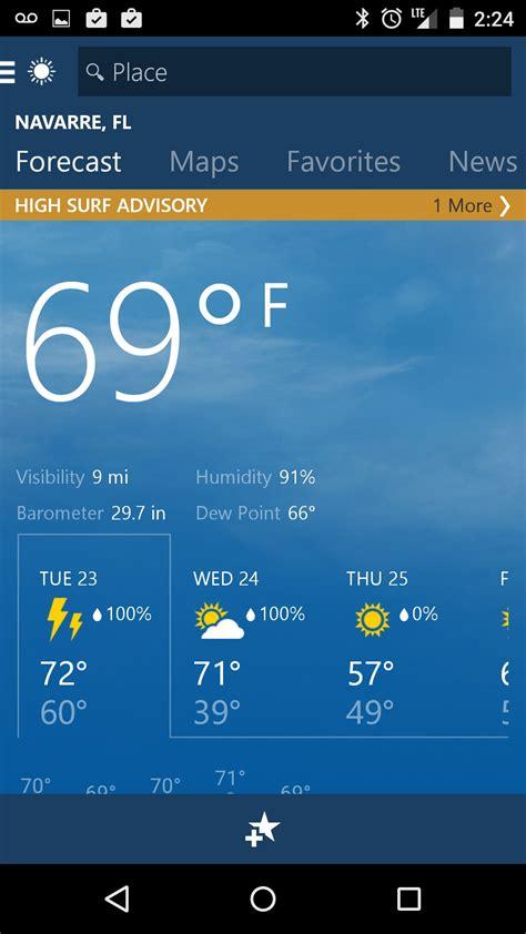 MSN Weather App Download