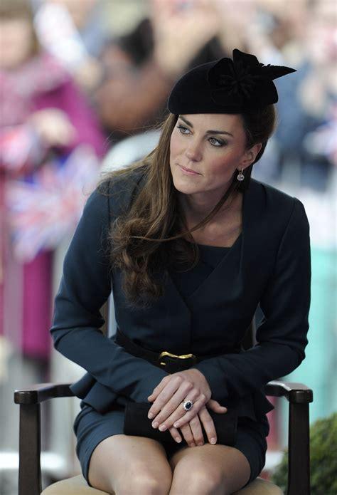 Kate Middleton Wear Hot Short Skirt Gotceleb