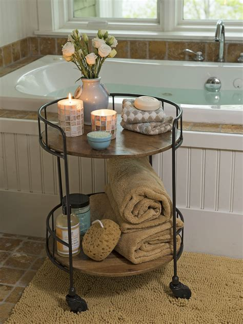 bathroom towel storage   stylish