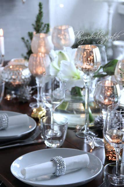 Lieblingsidee Blog Festliche Tischdekoration Für Weihnachten
