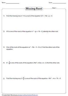 quadratic equation  function images
