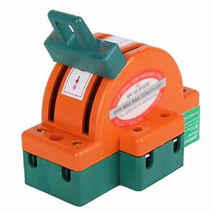 New 2 Pole Double Throw Dpdt Knife Safety Disconnect Switch Copper Plated Zinc 689718203462