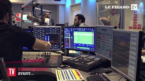 bruno guillon une minute avant le direct sur fun radio